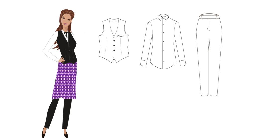 Dise o de moda corporativa for Dibujos de disenos de moda